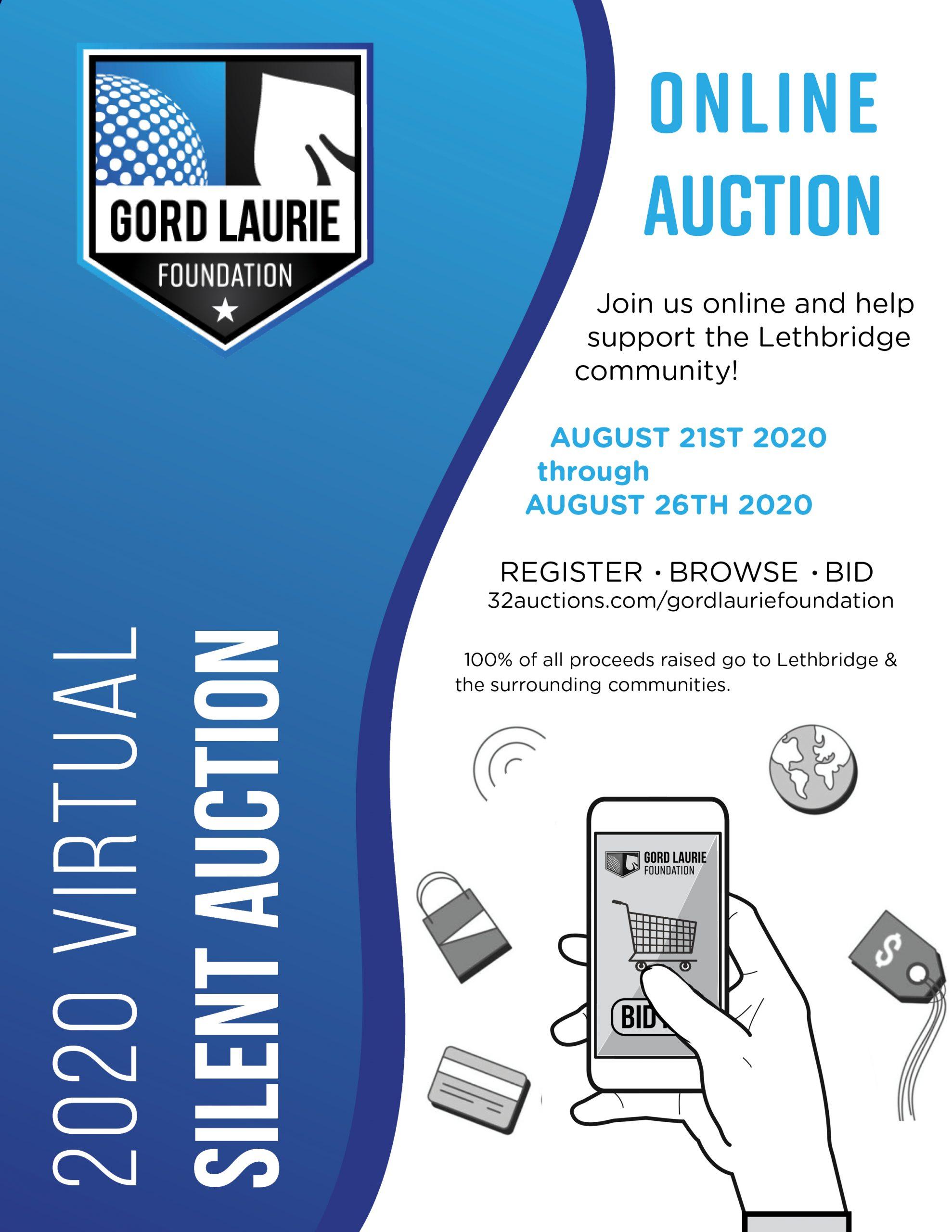 GLF 2020 Silent Auction Poster website